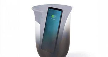 Bộ sạc không dây có khả năng khử trùng cho điện thoại