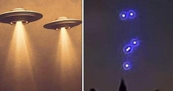 UFO xuất hiện trên bầu trời thủ đô London nước Anh