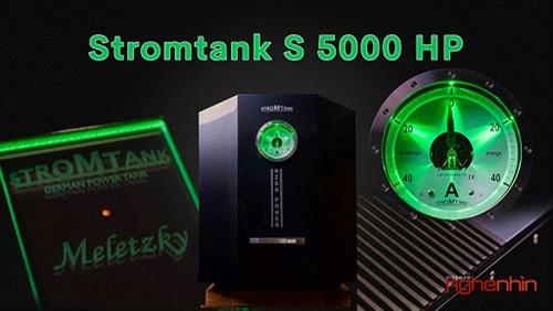 """Stromtank S 5000 HP – """"Xây"""" nhà máy điện giá 1,2 tỉ dành riêng cho dàn hi-end"""