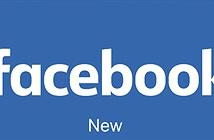 Facebook đổi font chữ cho logo