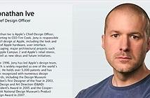 Apple bổ nhiệm Jony Ive làm trưởng bộ phận thiết kế