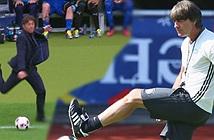 Xung quanh trận tứ kết EURO Đức - Italia: Conte đá, Low đỡ thế nào?