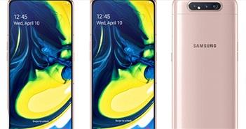 """Galaxy A80 với camera lật đã chính thức được """"lên kệ"""""""
