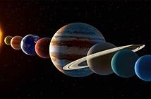Kỳ thú cuộc diễu hành của các hành tinh diễn ra vào tháng 7
