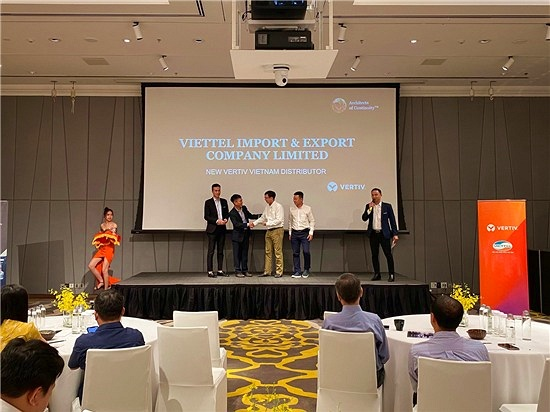 Vertiv chọn Viettel Distribution là Nhà phân phối mới nhất tại Việt Nam