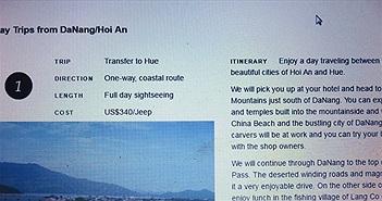 """Đà Nẵng: Đề nghị doanh nghiệp Internet chặn trang web dùng cụm từ """"China Beach"""""""