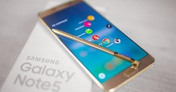 Người dùng chú ý: Giá Galaxy Note 5 tại VN đang giảm sốc