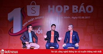 Sau 1 năm Shopee có 5 triệu lượt cài đặt tại Việt Nam