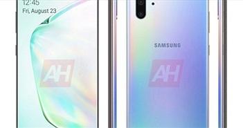 Galaxy Note 10+ 5G bất ngờ xuất hiện sát thềm ngày ra mắt