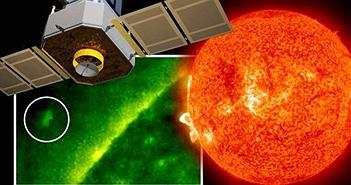 NASA chụp được ảnh UFO lớn hơn cả Trái đất ở gần Mặt trời?
