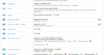 Lộ thông số Sony Xperia X Compact, cấu hình mạnh