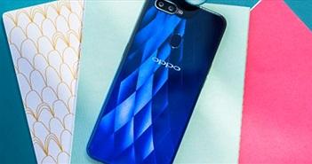 Video đập hộp Oppo F9 và F9 Pro giọt nước, mặt lưng 3D