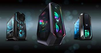 Predator Orion: PC Gaming của Acer có GPU GeForce RTX 30 Series siêu mạnh