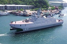 Đài Loan thử nghiệm tàu tên lửa thách thức Type 022 Trung Quốc