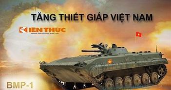 Infographic: Xe chiến đấu bộ binh nhiều nhất Việt Nam