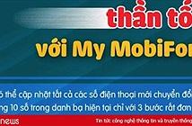 3 bước đơn giản để cập nhật danh bạ với My MobiFone