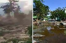 Sốc: Đất ở Indonesia hóa lỏng sau trận động đất, sóng thần kinh hoàng