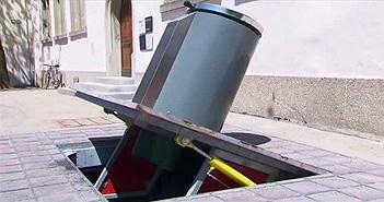 Hệ thống thùng rác dưới lòng đất: Giải pháp tuyệt vời cho rác thải đô thị của Thụy Sĩ