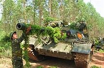 ẢNH: Xe tăng bộ đội Việt Bắc dũng mãnh xung trận