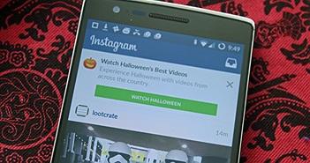 """Instagram giới thiệu chức năng mới nhân """"mùa"""" Halloween"""