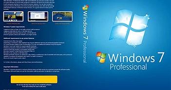 Microsoft ngưng bán bản quyền Windows 7 và Windows 8.1