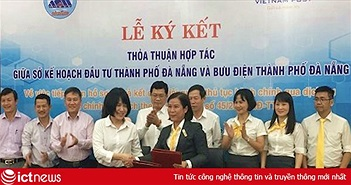 Bưu điện Đà Nẵng và Sở Kế hoạch & Đầu tư hợp tác nâng cao chất lượng dịch vụ hành chính công