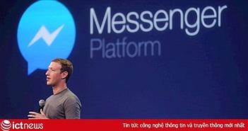 CEO Facebook Mark Zuckerberg: Đối thủ lớn nhất của Messenger là iMessages của Apple