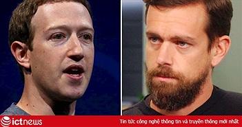 """Cuộc chiến gay cấn giữa hai """"ông trùm"""" mạng xã hội Mỹ"""