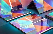 Smartphone gập lại của Samsung lại lộ thiết kế mới