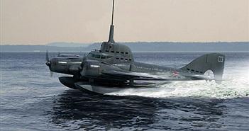 Kỳ lạ dự án tàu ngầm bay của Liên Xô để đối phó Đức quốc xã