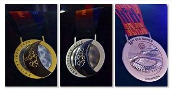 Huy chương Sea Games 30 có gì đặc biệt mà đắt hơn vàng tới 6 lần?