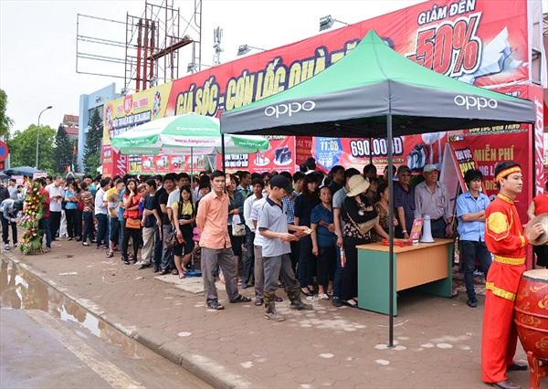 Doanh nghiệp điện máy chạy đua mở siêu thị