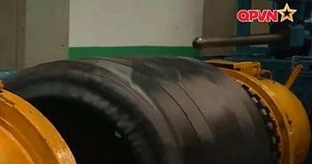 Ngạc nhiên: Cty dân sự Việt Nam sản xuất lốp xe thiết giáp