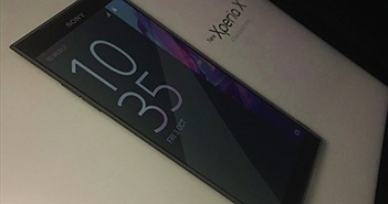 Smartphone cao cấp Xperia X 2017 lộ diện