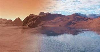 Bí ẩn hồ sao Hỏa bị đá hút nước, chôn vùi trong quá khứ