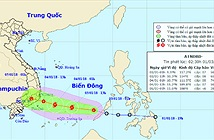 Áp thấp nhiệt đới có thể mạnh lên thành bão khi đến gần Trường Sa
