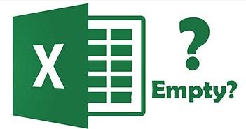 6 cách sửa lỗi không hiển thị nội dung bảng tính khi mở tài liệu Excel