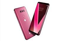 LG ra mắt phiên bản LG V30 Raspberry Rose tại CES 2018