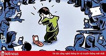 Báo động vấn nạn học sinh bị bắt nạt trên mạng xã hội