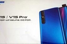 Vivo V15 Pro: camera sau 48MP và camera trước thò thụt 32MP