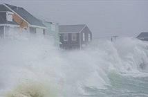 Bom bão tấn công các bang bờ Đông nước Mỹ