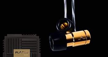 Flares Audio Gold - tai nghe cao cấp với vỏ tráng vàng