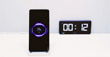 Xiaomi giới thiệu sạc nhanh không dây 40W, đầy 4000mAh chỉ trong 40 phút
