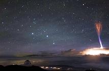 Phát hiện tia sét kỳ lạ xuất hiện giữa bầu trời Hawaii