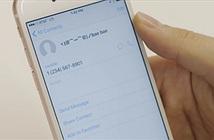 Cách tùy biến kiểu rung trên iPhone cho từng số điện thoại