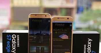 Hút mắt với phiên bản Samsung Galaxy S7 Edge mạ vàng 24K tại Việt Nam
