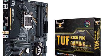 Asus ra mắt các dòng bo mạch chủ mới sử dụng chipset H370, B360 và H310