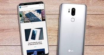 LG G7 có nút AI chuyên dụng và camera khẩu độ f/1.5