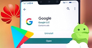 Điện thoại Huawei sắp có thể cài ứng dụng Google?