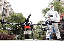 Sử dụng drone để chiến đấu với đại dịch Covid-19
